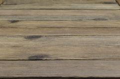 Perspective Of Rustic Wood Planks Or Table Or Floor. Perspective Of Rustic Rough Wood Planks Or Empty Table Or Floor  Background Stock Photo