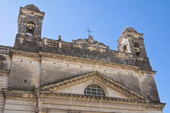 Sanctuary of Gesu Bambino. Massafra. Puglia. Italy. Royalty Free Stock Images