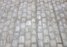 Perspective stone pathway with stripe in the park.  stock photos