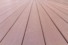 Perspective striped wood Royalty Free Stock Image