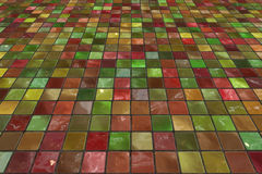 Perspective tiles Royalty Free Stock Photography