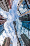 Perspective view of modern building Royalty Free Stock Photo