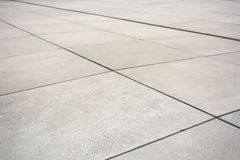 Perspective view of the modern pavement stock image