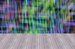 Perspective wood blur background and wallpaper Stock Photo