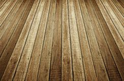 Perspective of wood plank background stock photo