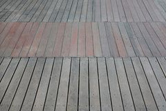 Perspective wood plank floor royalty free stock photos