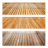 Perspective wood set Stock Photography