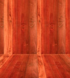 Perspective of wood texture background Royalty Free Stock Photography