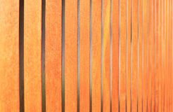 Perspective of wooden fence Stock Photography