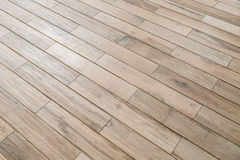 Perspective wooden floor ,image in soft focusing ,vintage tone Stock Photo