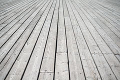 Perspective wooden floor Stock Photos