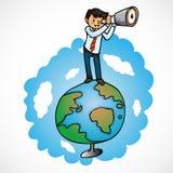 Perspectives financières Images libres de droits