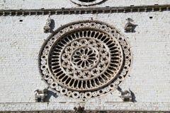 Perspektiv av Assisi, Italien Royaltyfri Bild