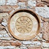 Perspektiv av Assisi, Italien Royaltyfri Foto