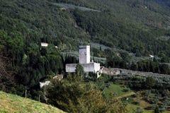 Perspektiv av Assisi, Italien Royaltyfria Bilder