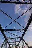 Perspektiv av bron Arkivfoton