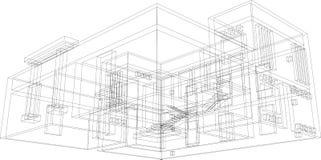 perspektiv för 38 konstruktion Royaltyfri Bild