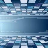 Perspektive-abstrakter Hintergrund Stockfoto