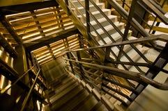 Perspektive der Treppen Stockbild