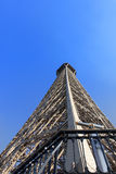 Eiffelturm-Perspektive Lizenzfreie Stockfotos