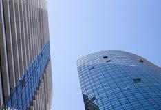 Perspektiveansicht der Wolkenkratzer Lizenzfreie Stockbilder
