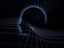 Perspektiven des Verstandes Stockbild