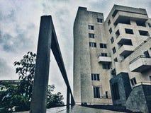Perspektiven-Gebäude lizenzfreie stockfotografie