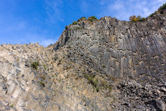 Perspektivenansicht der Symphonie der Steine unter blauem Himmel im Arm Lizenzfreies Stockbild