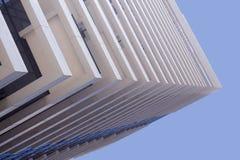 Perspektivenansicht von Handelsbürogebäuden Stockbild