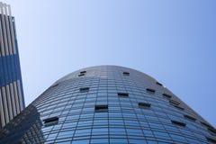 Perspektivenansicht von Handelsgebäuden Lizenzfreies Stockbild