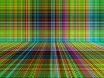 Perspektivenplaid- oder -Schottenstoffmusterzusammenfassungshintergrund Stock Abbildung