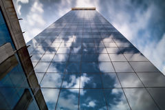 perspektivskyskrapa royaltyfria foton