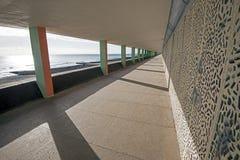 Perspektywa ikonowa butelki aleja, Hastings, Wschodni Sussex, Anglia Obrazy Royalty Free