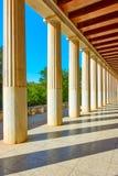 Perspektywa kolumnada zdjęcie stock