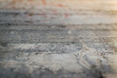 Perspektywa stara betonowa ściana Obrazy Royalty Free