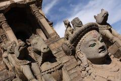 perspektywiczna świątynia Zdjęcie Stock