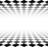 Perspektywiczna w kratkę powierzchnia ilustracji