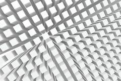 perspektywiczni tło sześciany Obraz Royalty Free