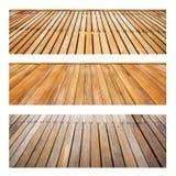 Perspektywiczny drewno set Fotografia Stock
