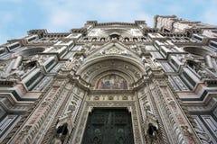 perspektywiczny Florence katedralny widok Obraz Stock