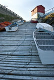 perspektywiczny slipway Zdjęcia Stock