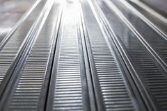 Perspektywiczny szeroki kąta widok nowożytny aluminium Zdjęcia Royalty Free