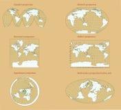 perspektywiczny świat Obrazy Royalty Free