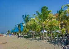Perspektywiczny widok Cartagena plaża obrazy royalty free
