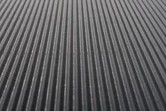 Perspektywiczny widok karton gofrował deseniowego tło przy czarnym kolorem Fotografia Royalty Free