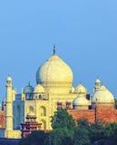 Perspektywiczny widok na Taj-Mahal Obraz Stock