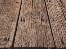 perspektywiczny widok przy drewnianym boardwalk zdjęcia stock