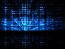 Perspektywy ściana - abstrakta cyfrowo wytwarzający wizerunek Fotografia Stock