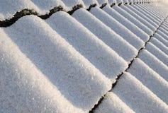 perspektywy śnieżny dachowy Obrazy Stock