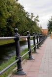 Perspektywy ogrodzenie Zdjęcie Royalty Free